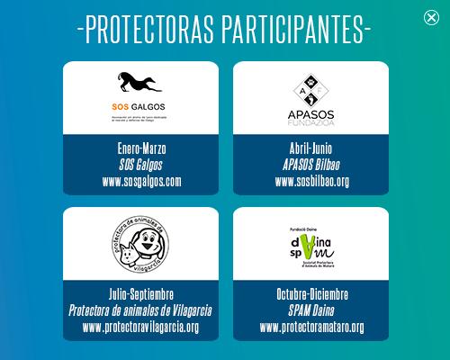protectoras participantes